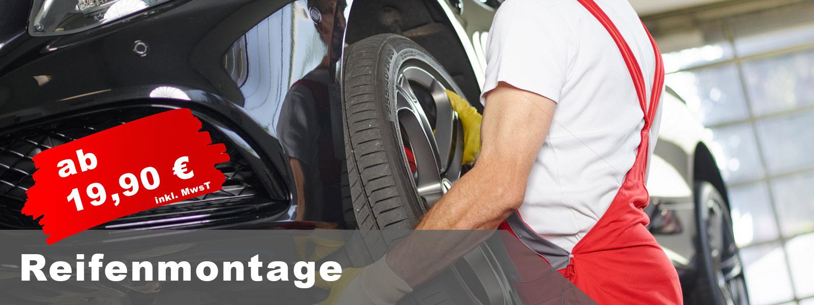 Reifenmontage, Reifenwechsel